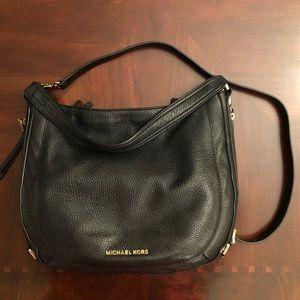 Michael Kors black hobo handbag